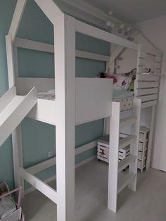 pokoj dla dziewczynki blog_jak urzadzic pokoj dla trzylatki_pokoj dla dziecka bialo-mietowy_lozko ze zjezdzalnia_biale lozko pietrowe ze zjezdzalnia_pokoj dla naszej coreczki_sliczny pokoj dla dziewczynki