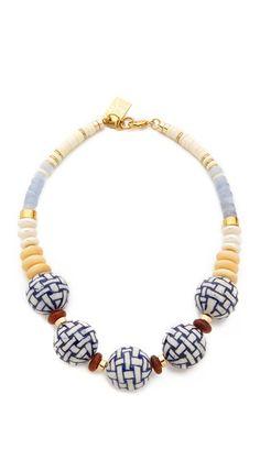Lizzie Fortunato New Blue II Necklace | SHOPBOP