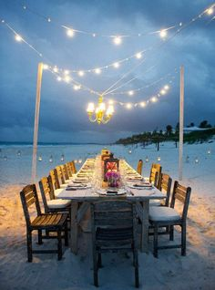 Summer is: dining under the stars