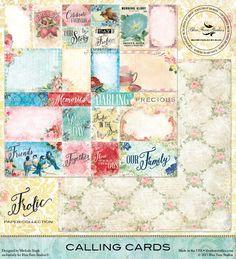 Blue Fern-Calling Cards