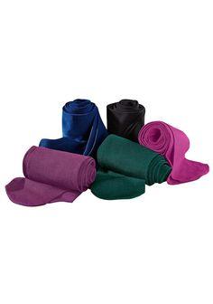 Diese feine, blickdichte Strumpfhose aus Baumwolle fühlt sich auf der Haut besonders angenehm an! In 4 Trendfarben und schwarz im 2er Pack für Sie erhältlich!  Aus 50% Baumwolle, 43% Polyamid und 7% Elasthan....