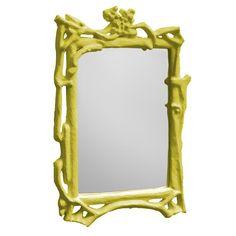 Bungalow 5 Baum Mirror Silver Leaf :: $715 | Bungalow 5 @ Layla Grayce ::  [29 Awesome Ideas