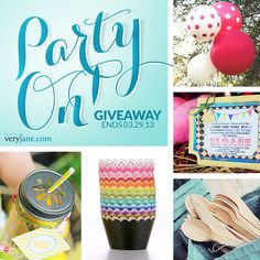 Party on giveaway