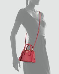 bbf5e18af1 Prada Saffiano Mini Promenade Crossbody Bag