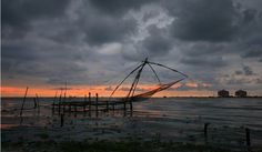 Cochin fishing nets and #Vypin LNG terminal