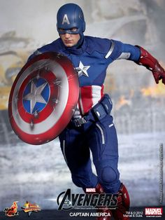 Lifelike Collectible Captain America figure will give you instead street cred with other geeks and nerds.