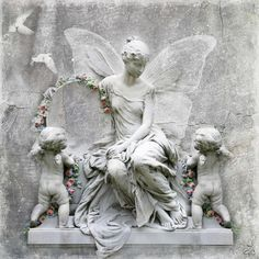 Lady-Gray-Dreams by Sofia. Angel Images, Angel Pictures, Angel Sculpture, Angels Among Us, Lady Grey, Cherub, Clay Art, Photo Art, Garland
