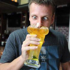 double d boobie beer glass :D #beerandboobs #beertime