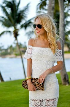 Summer outfit ideas Off shoulder Dresses !!!! #Fashion #Musely #Tip