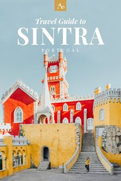 ADARAS Travel Guide to Sintra: A Fairytale Town in Portugal The fairytale town Sintra in Portugal feels like a world away from Lisbon with its many glittering palaces and castles. In this travel guide, find out . Sintra Portugal, Visit Portugal, Portugal Vacation, Portugal Travel Guide, Europe Travel Guide, Travel Guides, Portugal Trip, Travel Deals, Travel Hacks