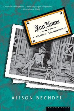 "Graphic Novel: Fun Home by Alison Bechdel. My first graphic novel read for pleasure and not because it's on a syllabus. Fun Home is fantastic! I think I had a preconceived idea that graphic novels are less ""literary"" but Bechdel proves me wrong. Her language is elevated and sophisticated (she even uses the term simulacrum) and her autobiography is poetic and honest."