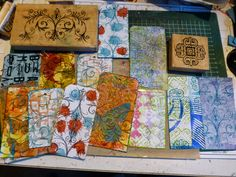 *{CraftChaos}* using scraps  for tags