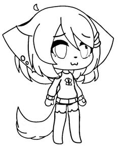 gacha life coloring pages unique collection print for free  cartoon coloring pages anime