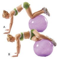 Get new ways to use a stability ball for awesome abs
