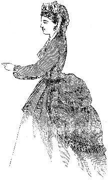 Victorian Bustle Jacket Pattern