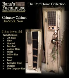 The PrimHome Collection is made specially for Nana's Farmhouse by a local artist.