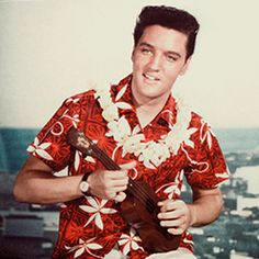 Picnic outfit- Yes, Elvis has it right with a great Hawaiian shirt (not too crazy), casual pants, and watch