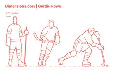 "Canadian professional ice hockey player Gordie Howe is among the National Hockey League (NHL) scoring juggernauts of the century, thus nicknamed ""Mr. Hockey."" He played for the Detroit Red Wings, becoming a twenty-one time NHL All-Star and holding the NHL records for goals, assists, and total points until Wayne Gretzky shuttered them. Downloads online #sports #icehockey"