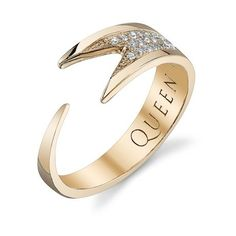 Can someone tell my husband to buy this for me?   Roseark - Shop by Product: Diamond Stinger Wrap Ring