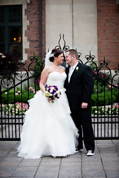 {Real Plus Size Wedding}  Candle Lit Wedding in Detroit | Kellie Saunders Photography