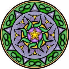 ARTHE A4 - Desenhos Personalizados para Tatuagem - Mandalas Personalizadas - Mandala da Prosperidade - Mandala do Relacionamento - Arte em Papel Tamanho A4 - Arte Digital - Logos