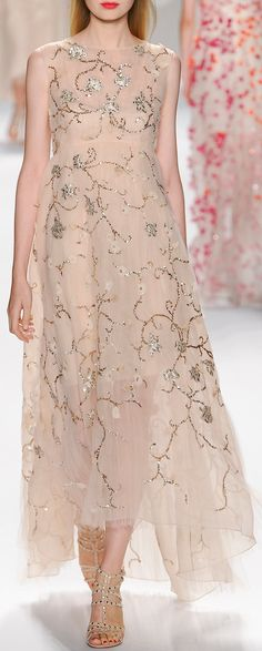 Monique Lhuillier RTW Spring 2014