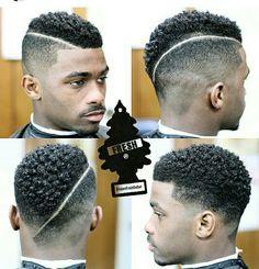 @adamfreshbarber on IG. BLACK MALE HAIR. DOPE, NATURAL