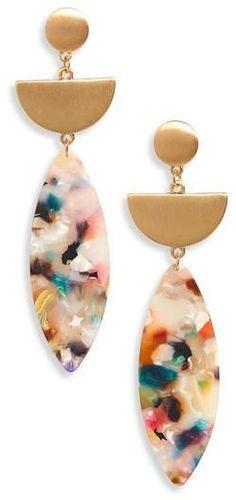 Panacea Marquise Drop Earrings |♦F&I♦