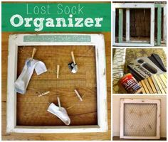 Lost Sock Organizer | 50 Clever DIY Ways To Organize Your Entire Life
