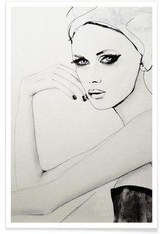 Broken Wild als Premium Poster von Leigh Viner | JUNIQE