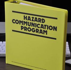 Create a Hazard Communication Program for your hair salon. It's the Law!