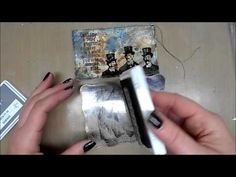 ▶ Mixed Media Index Card - YouTube
