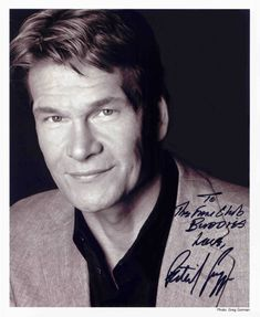 Official Patrick Swayze International Fan Club