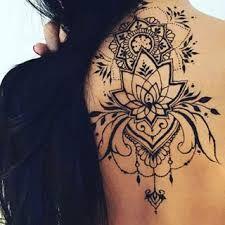 Nacken tattoo muster schwarz - Tattoos - Tattoo Designs for Women Henna Tattoo Muster, Mehndi Tattoo, Henna Tattoos, Body Art Tattoos, Small Tattoos, Girl Tattoos, Tattoos For Women, Sleeve Tattoos, Tatoos