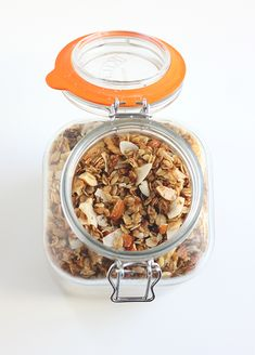The last granola recipe and the secret ingredient is cardamon #recipe #breakfast #granola