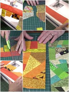 Crumb Quilt Technique Tutorial – Crumb Quilting Crumb quilting is a fun way to use up your small scraps of fabric. See our tutorial on how to create larger pieces of fabric using the crumb quilting technique. Crazy Quilt Blocks, Strip Quilts, Patch Quilt, Quilting Tips, Quilting Projects, Sewing Projects, Crazy Quilting, Sewing Tips, Crazy Patchwork