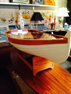 How to Build Boat Coffee Table Plans PDF Plans |Dinghy Coffee Table