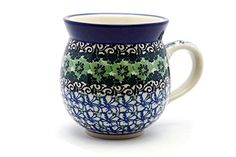 Polish Pottery Mug - 11 oz. Bubble - Kiwi * Don't get left behind, see this great product offer  : Bakeware