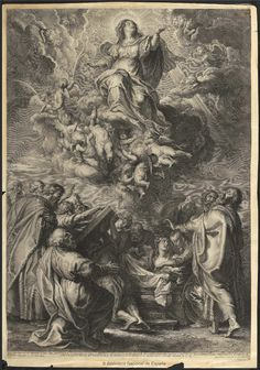 [La Asunción]. Bolswert, Schelte Adams 1586-1659 — Grabado — 1652-1724?