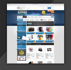 Elegant ebay store design by eStore Services  Kindly visit our website: http://www.estore-services.com/ebay-store-designs.html