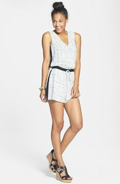 BCNU Print Romper  available at Nordstrom