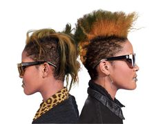"""We grew up in the suburbs, and people used to stare at us because we were different. We created eyewear to block eye contact."" - Coco and Breezy Dotson"