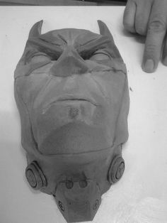 Superhero done by Kobus Deysel, Aspris! Art.  To commission or order, e-mail kobus.deysel@gmail.com. Sculpting, Sculptures, Skull, Creatures, Superhero, Art, Art Background, Sculpture, Kunst