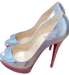 Louboutin Shoes Women, Christian Louboutin Shoes, Red Bottoms, Heavenly, Peeps, Dust Bag, Wicked, Zero, Peep Toe