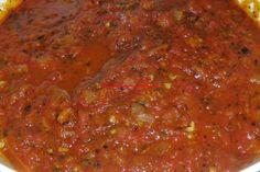 Recopilatorio de recetas : Salsa de tomate a la italiana en thermomix
