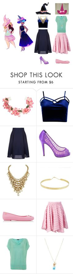 """witches"" by odscene ❤ liked on Polyvore featuring Miss Selfridge, Boohoo, Christian Louboutin, Lana, Melissa, Julien David, Mint Velvet and Forever 21"