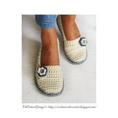 Surprising Gifts: Crocheted Shoes. Super cute!