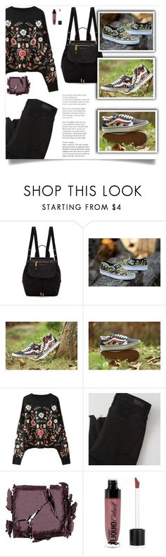 """""""Vans!"""" by samra-bv ❤ liked on Polyvore featuring Marc Jacobs, Abercrombie & Fitch, Surratt, Wet n Wild and casual"""