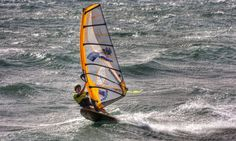 Windsurfing in the Canary Islands
