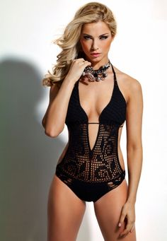 similar crochet swimsuit @ Ava Adorn